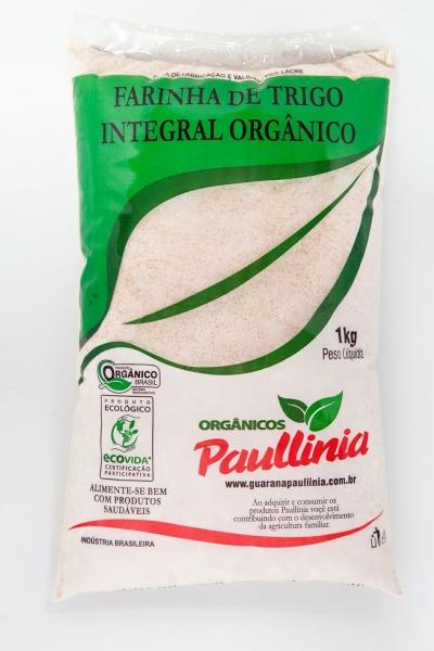 Farinha de Trigo Integral Orgânico