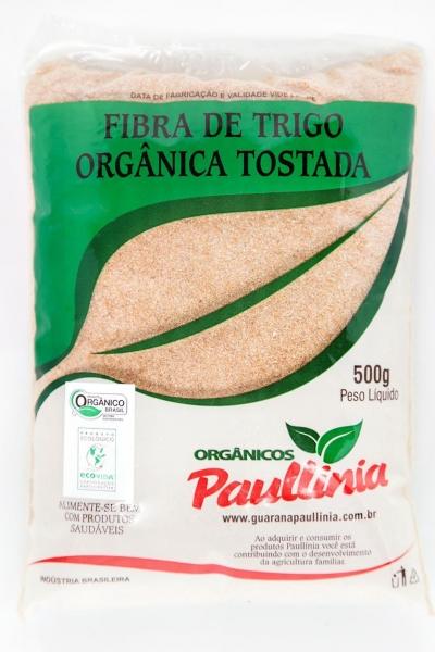 Fibra de Trigo Tostada Orgânica