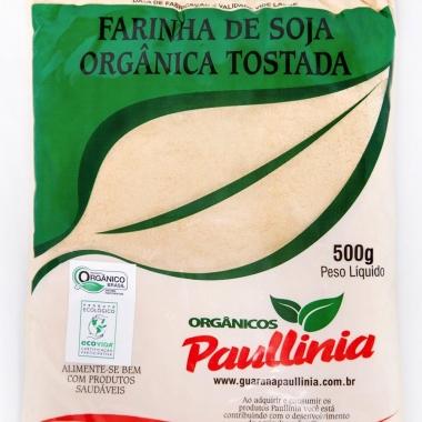 Farinha de Soja Tostada Orgânica